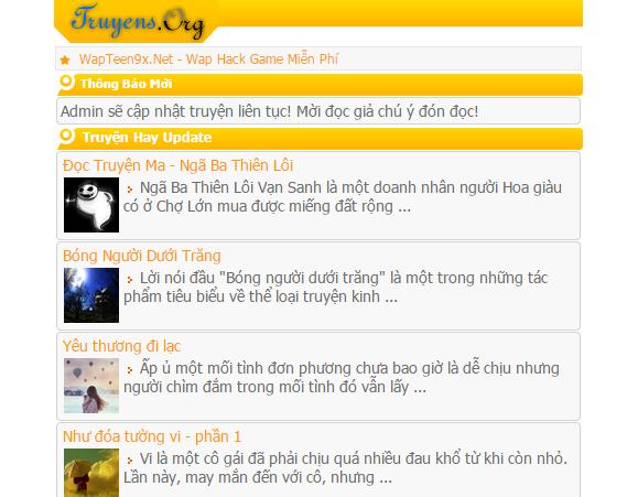 Share code template WapSEO Mod giống TraSua.Mobi - BinhPhuoc.WapGem.Com